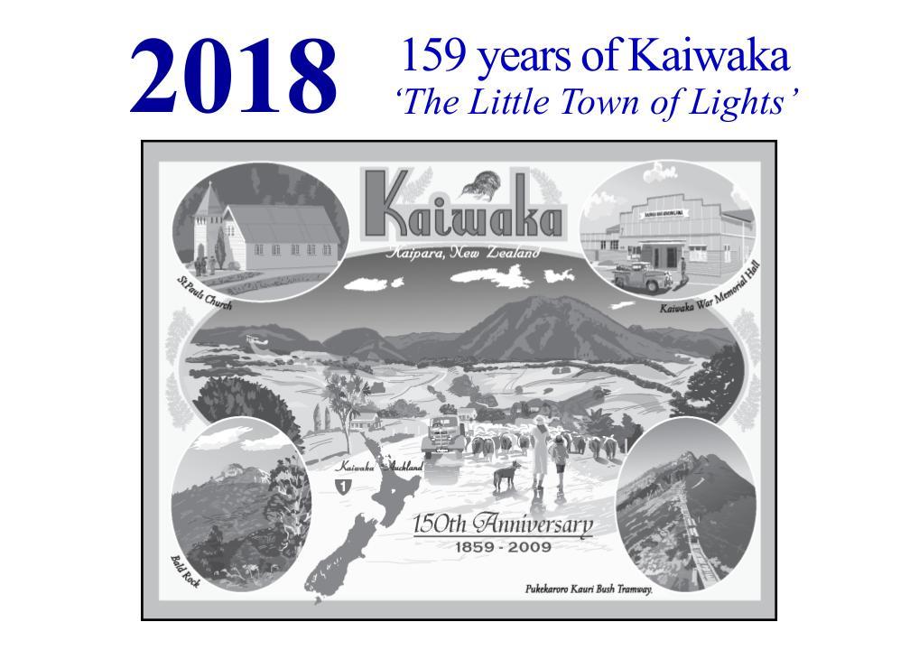 Kaiwaka Calendar 2018
